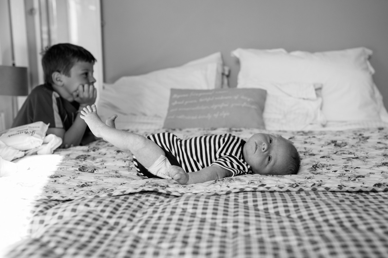 Newborn baby photography in your own home London Children Photography