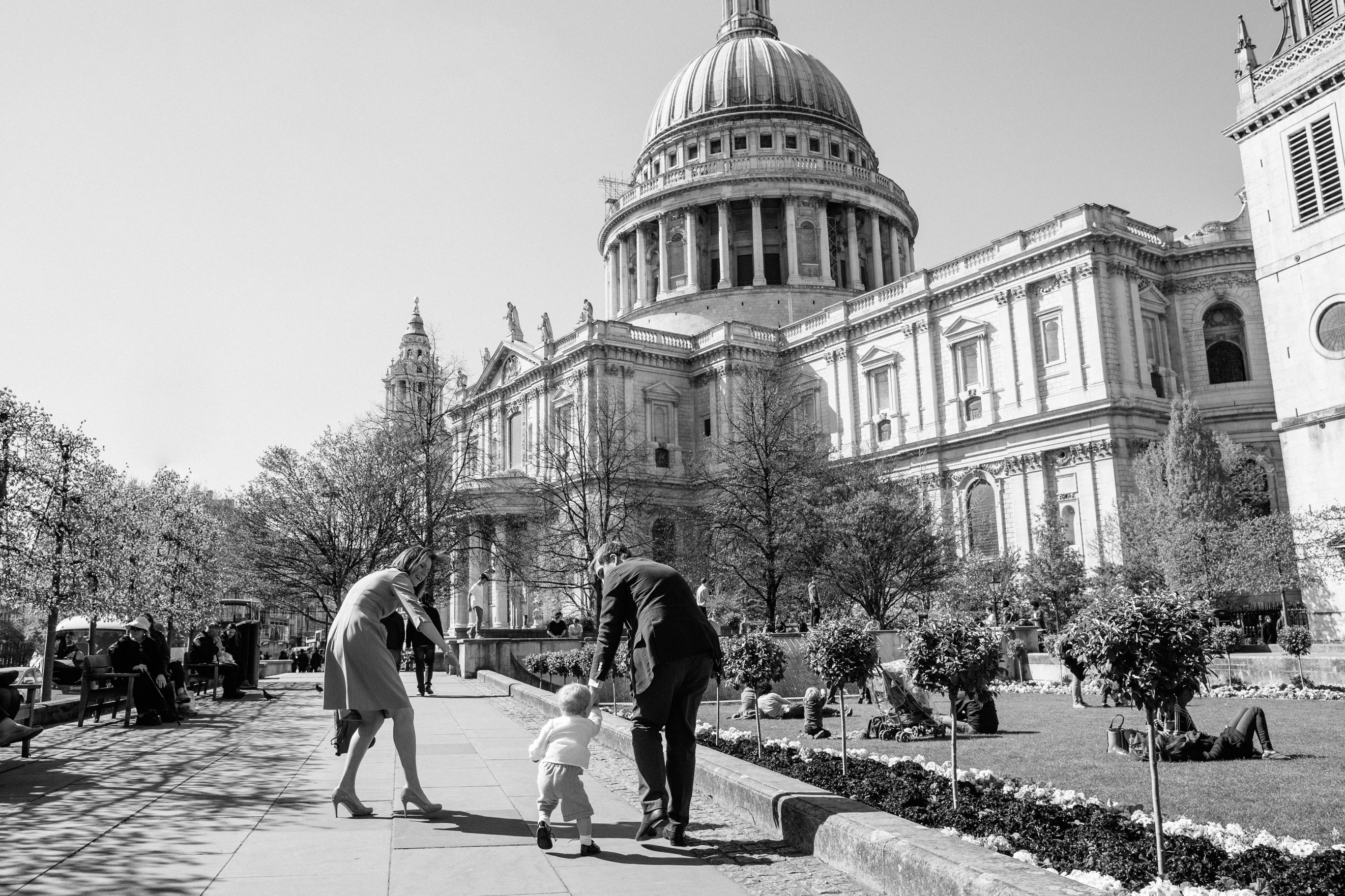 St Pauls Cathedral Christening photographer London
