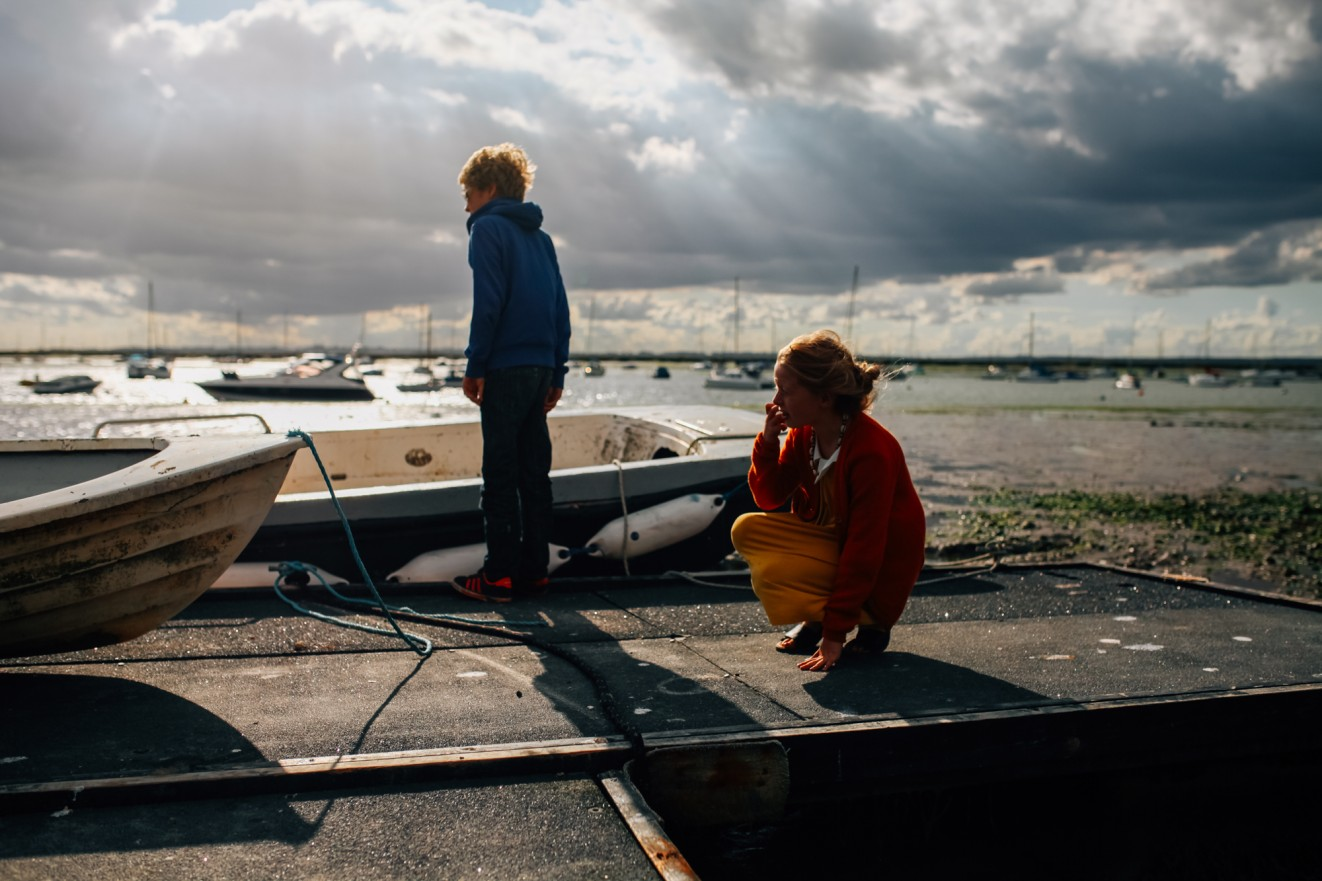 Mersea Island, Essex family photographer London Children Photography