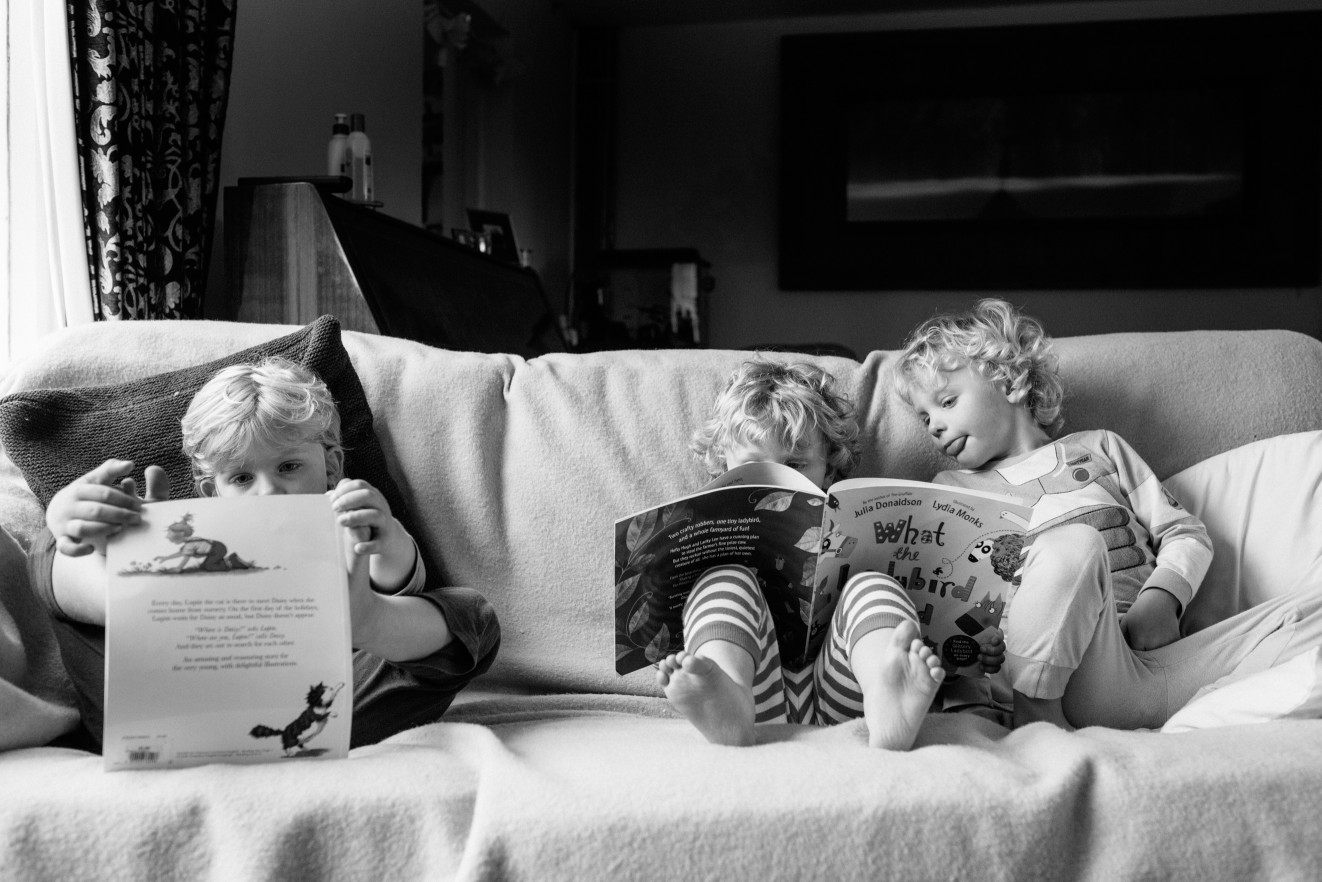 Capturing routines at home; Baby & child photographer London London Children Photography
