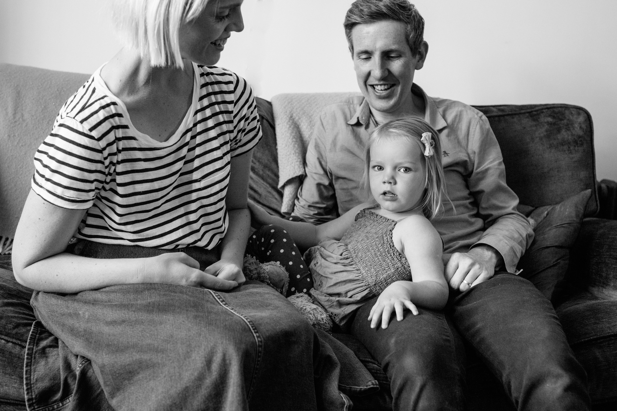 Family photographs at home in Stoke Newington, London London Children Photography