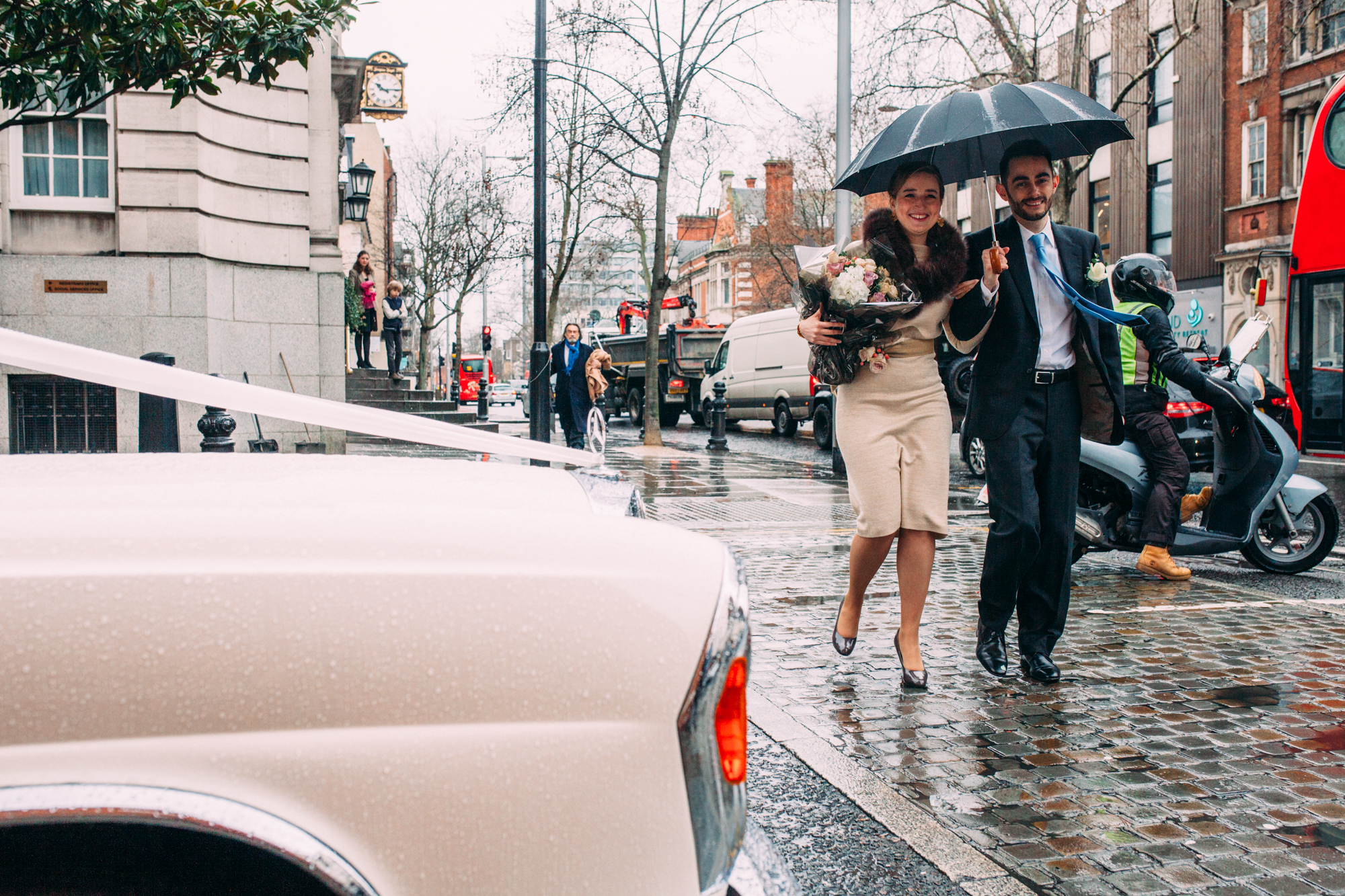 London Documentary wedding photographer