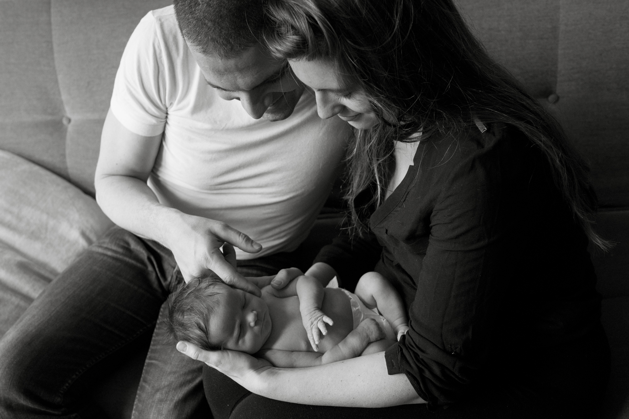 Newborn baby & family portraits, Marylebone, London London Children Photography