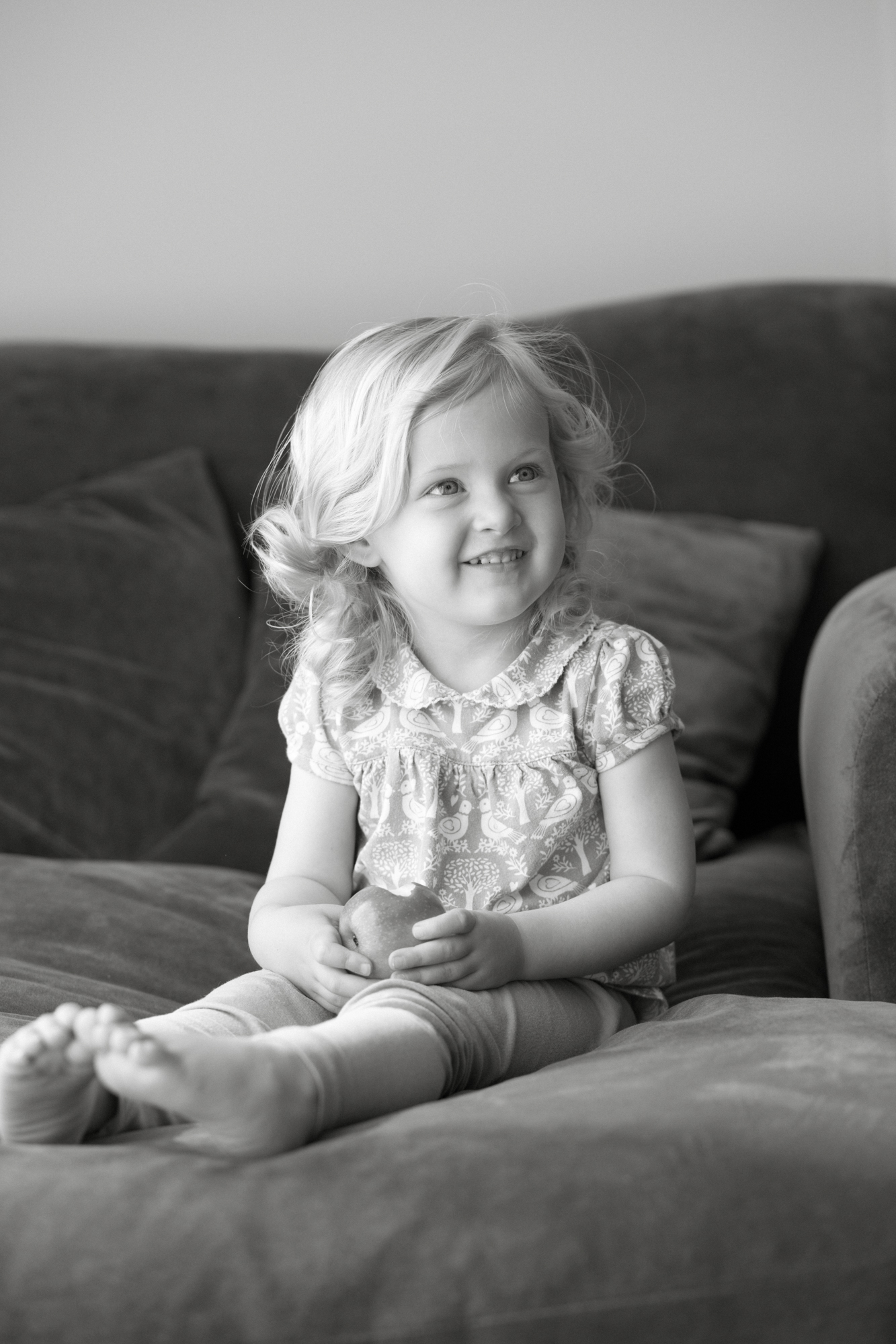 Black and white child portrait photography London London Children Photography