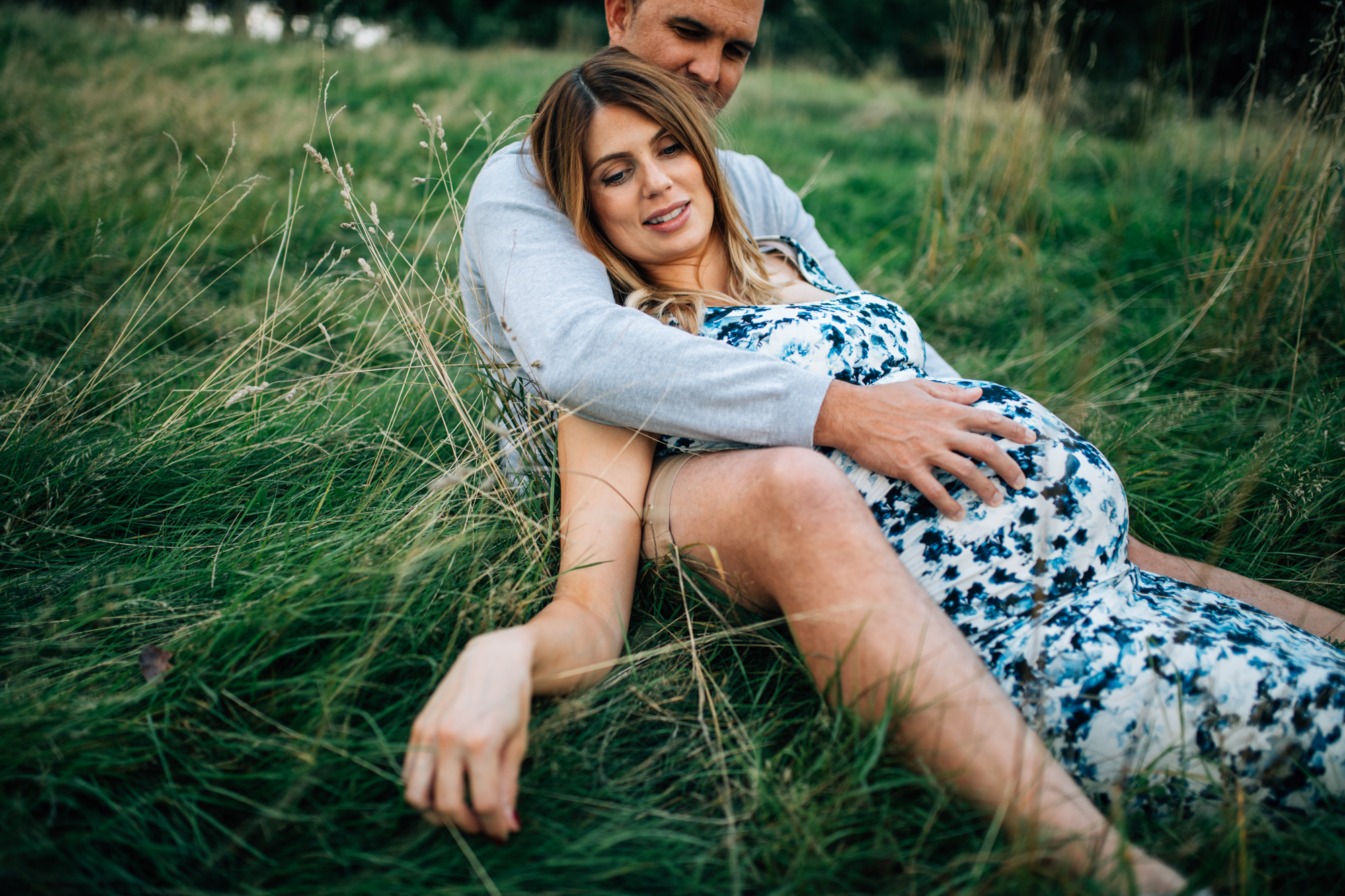 Maternity photography in Primrose Hill, London