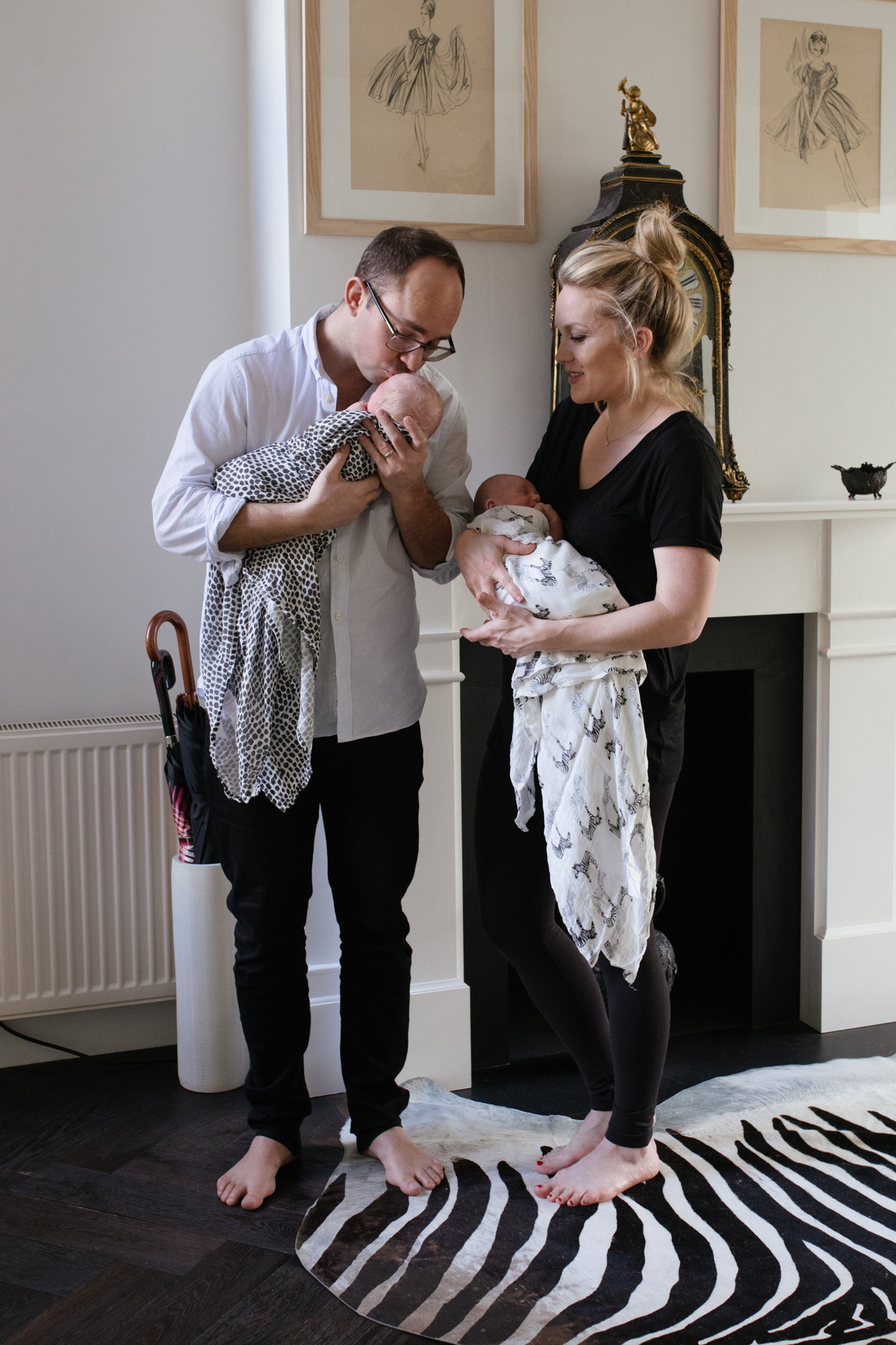 Newborn baby lifestyle photographer London London Children Photography