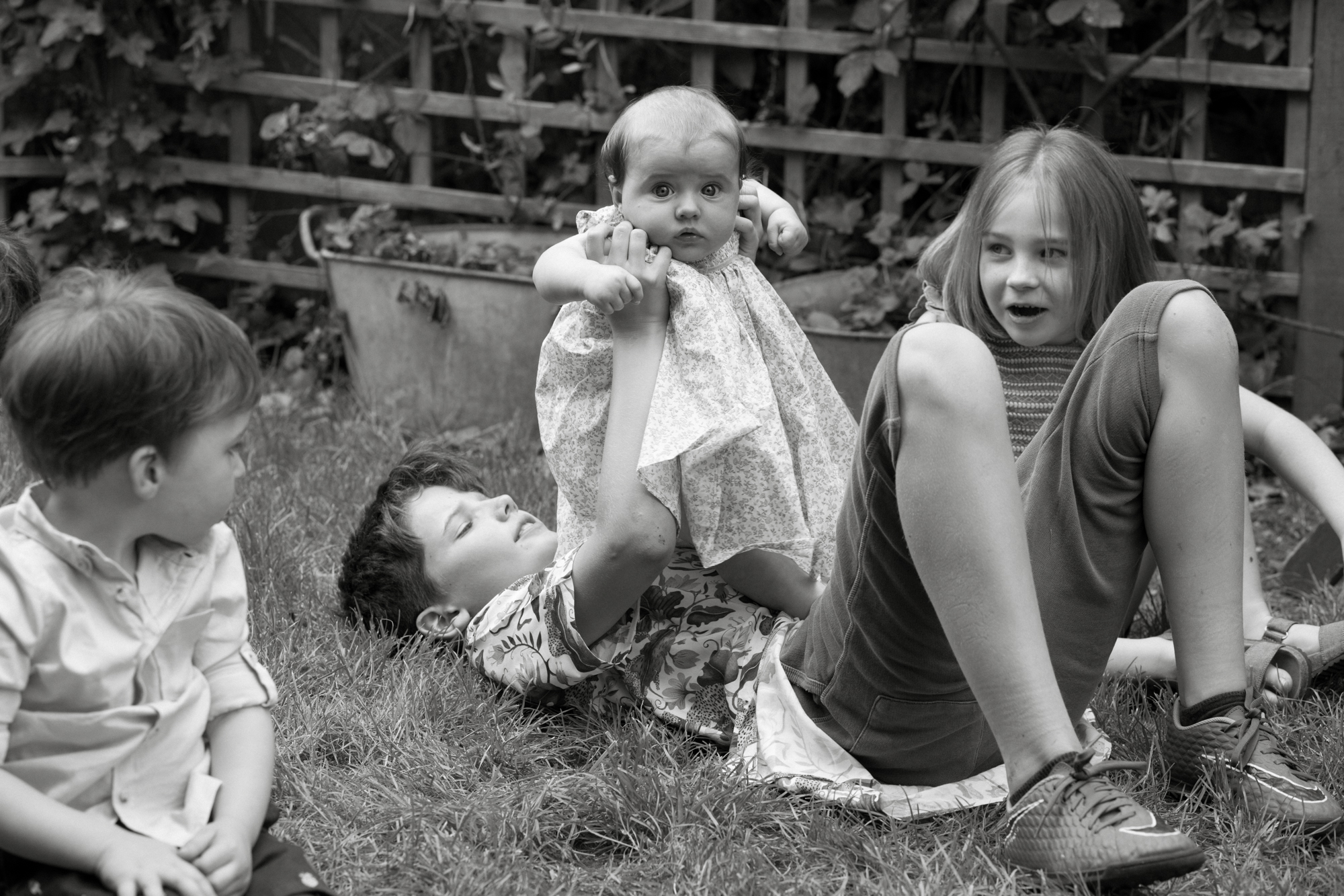 Family portrait photography at home in London London Children Photography