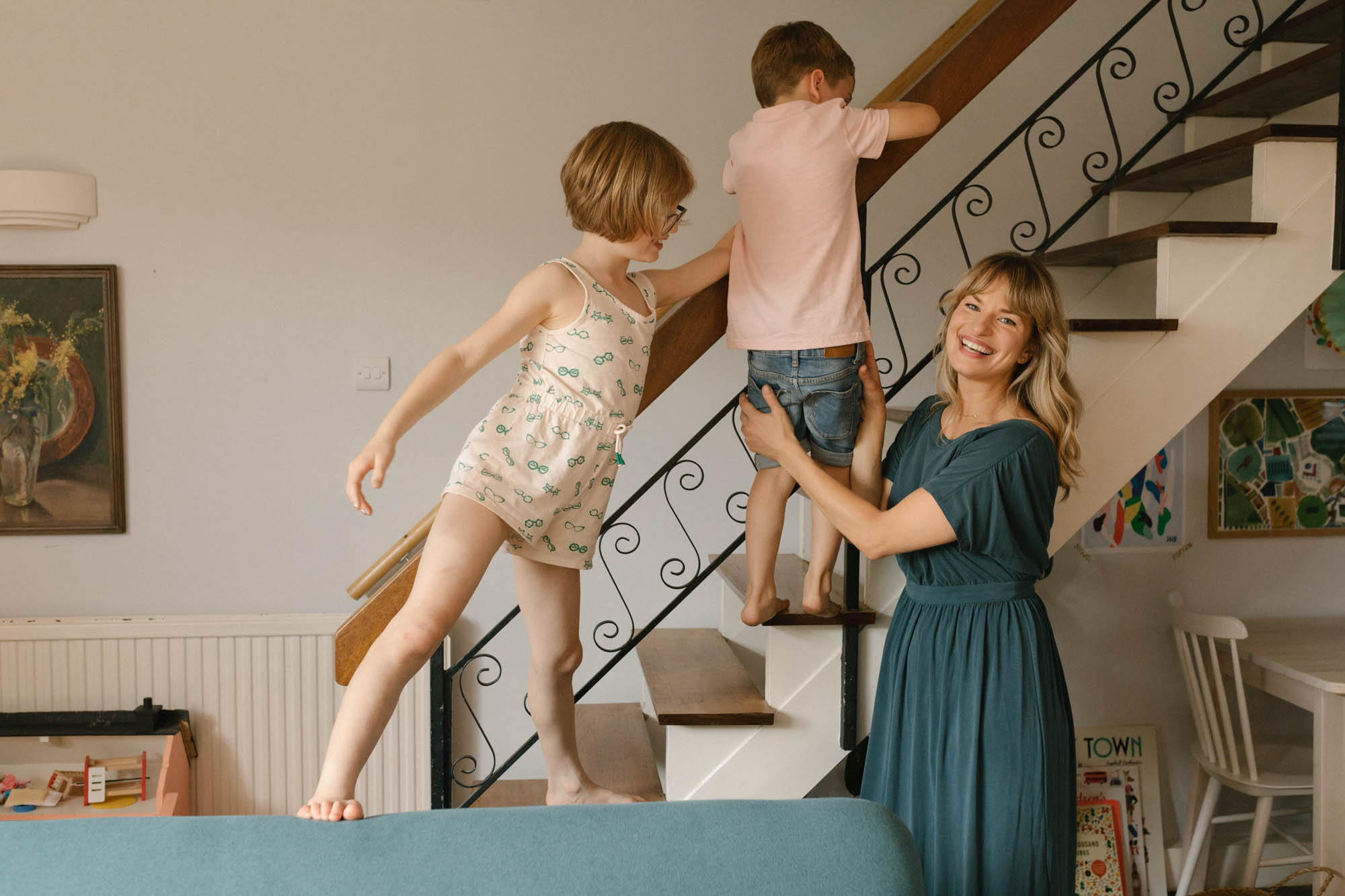 Motherhood session with Bethie Hungerford and kids London Children Photography