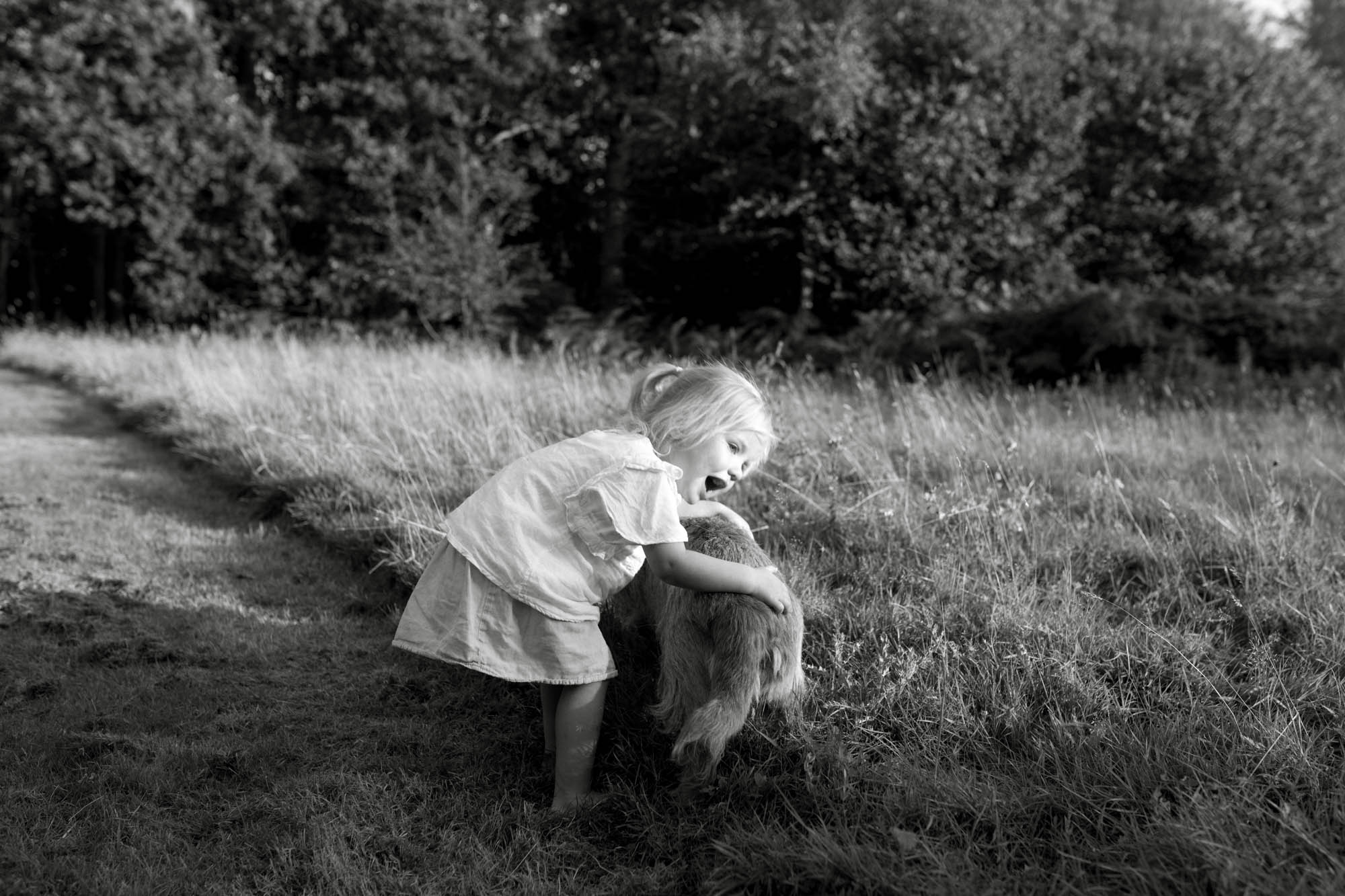 Black & White natural portraits London Children Photography