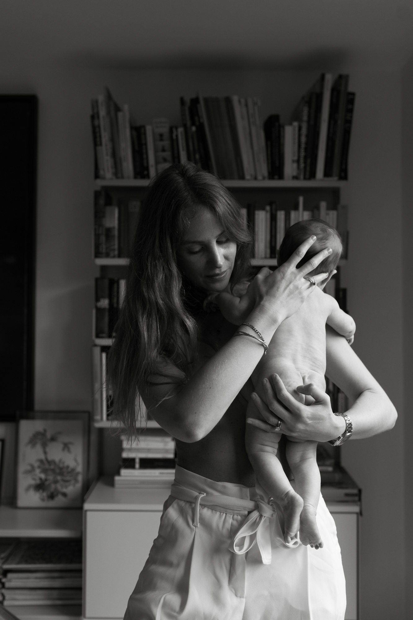 Mother and baby portrait photographer London London Children Photography